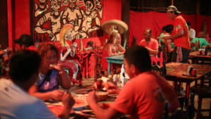 restaurante Pizza Papi en Mahahual